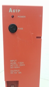 A61P melsec PLC power supply voeding.