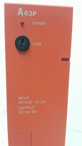A63P melsec power supply voeding mitubishi plc.