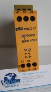 PNOZ X7 24VDC/AC Idnr 774059 Pilz safety relay