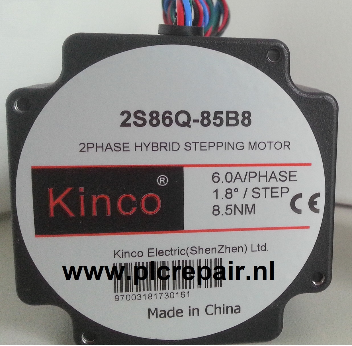 2S86Q-85B8 KInco Stappenmotor 8.5Nm