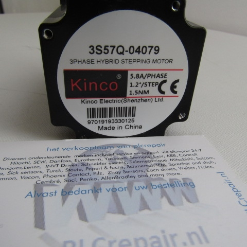 3S57Q-4079 3phase hybrid stepping motor 1.5Nm kinco electric