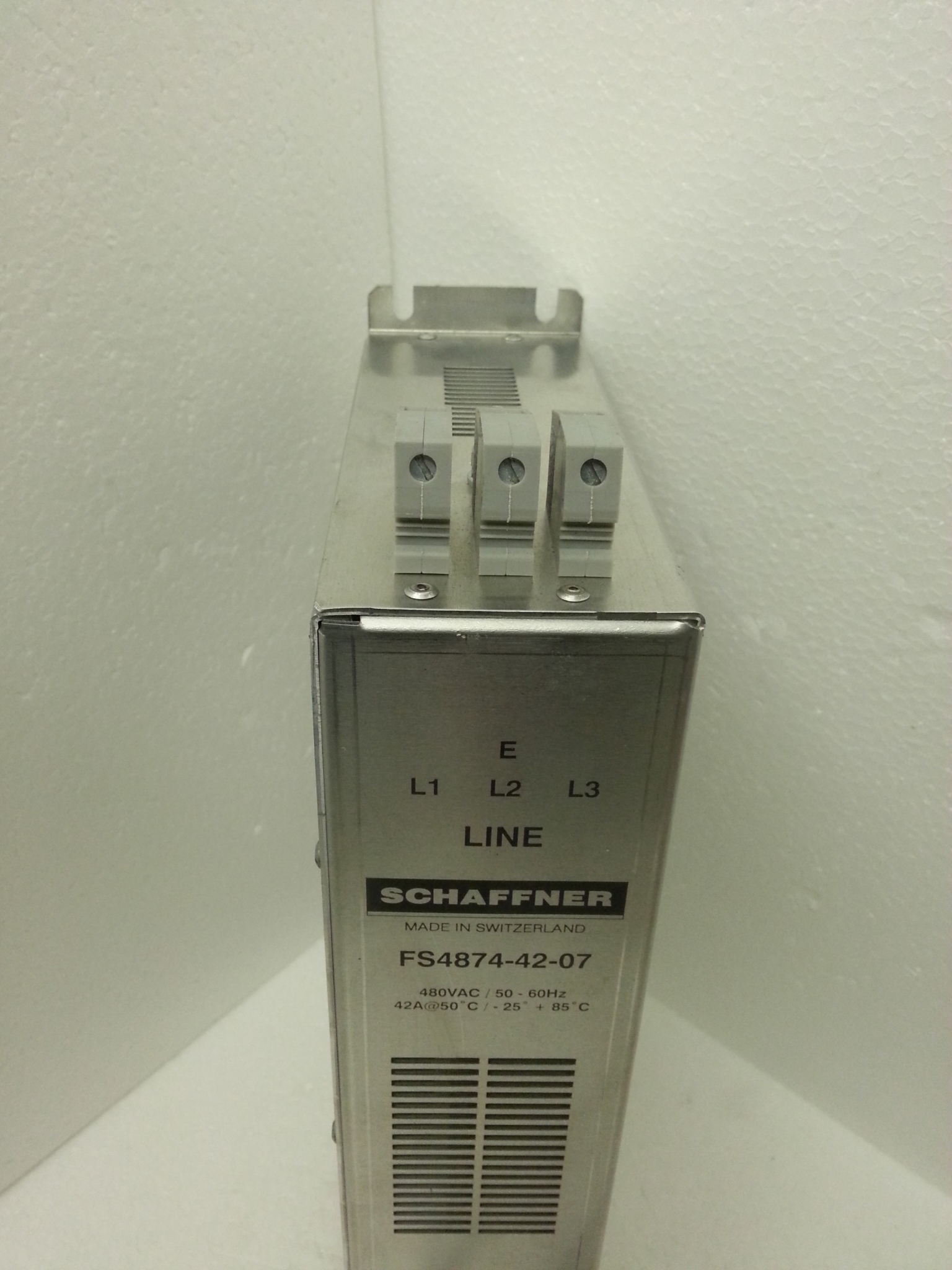 FS4874-42-07 Schaffner EMI EMC frequency drive filter