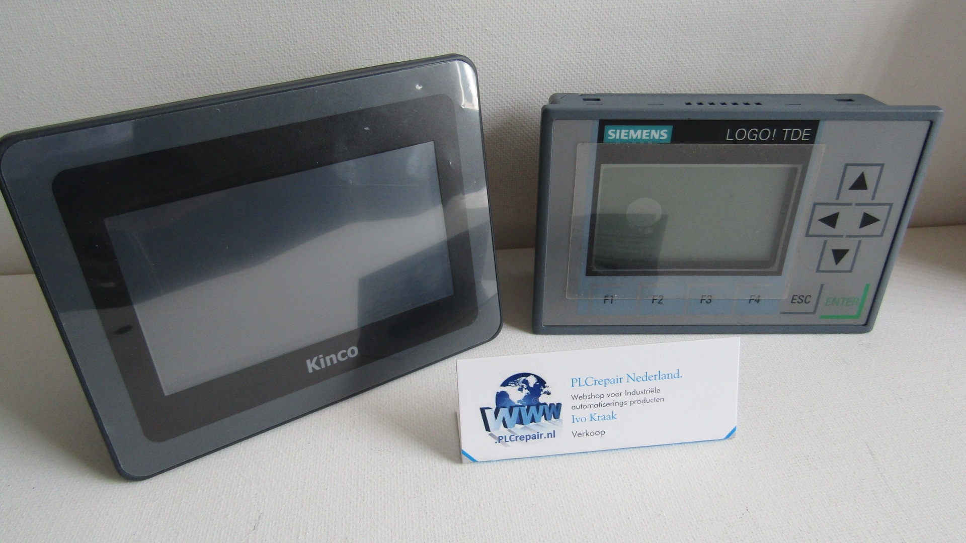 """HP043-20DT HMI PLC 4.3"""" touch panel with on board i/o 24VDC"""