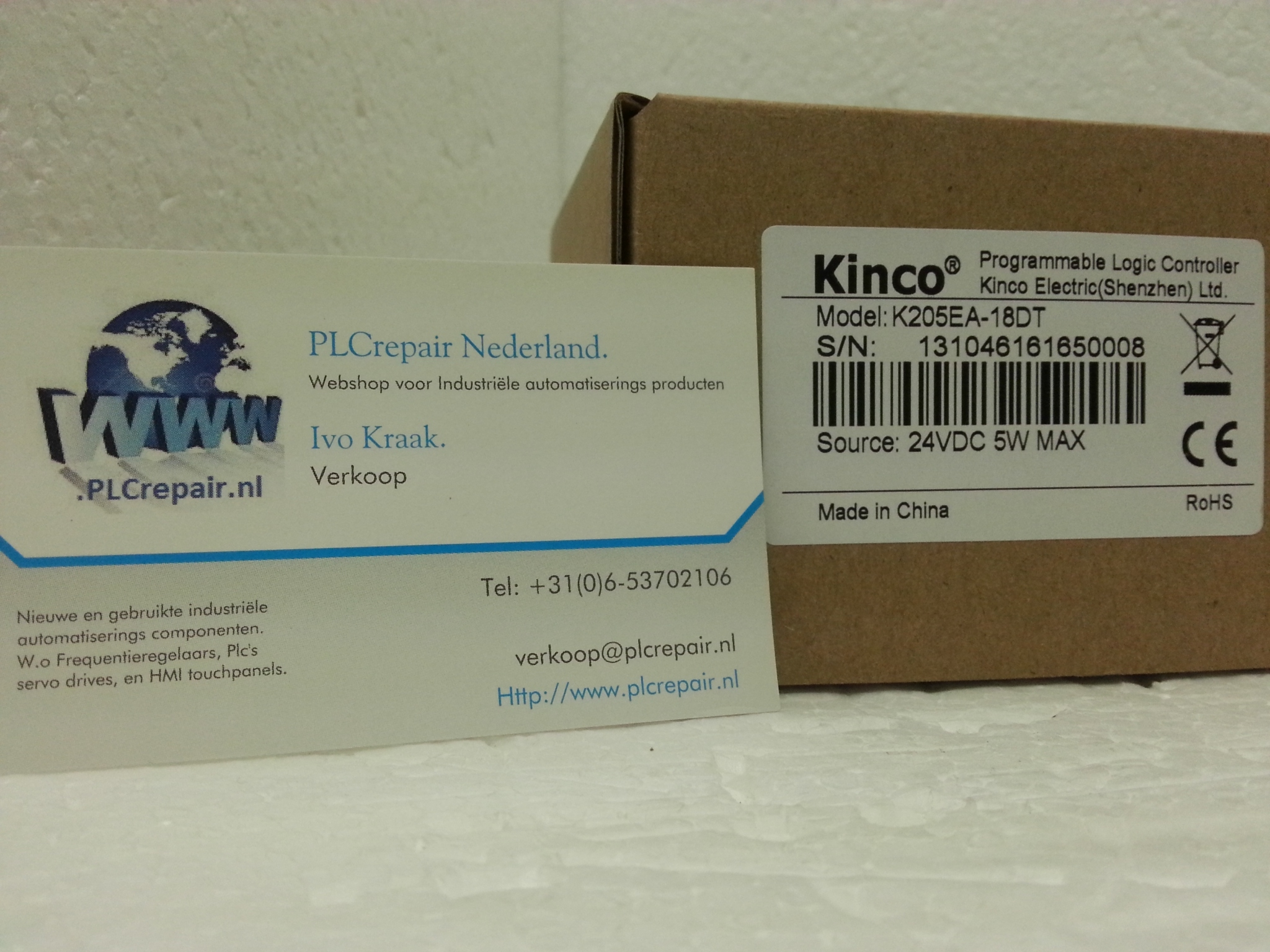 K205-18DT Kinco cpu Incl analog functie
