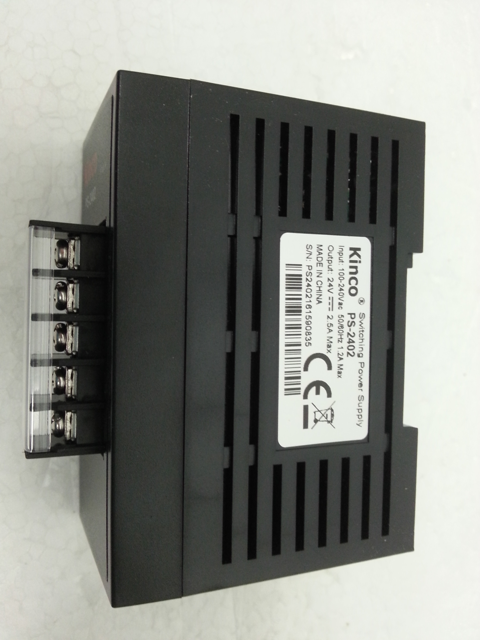 PS2402 24Vdc-2A Power supply Kinco.