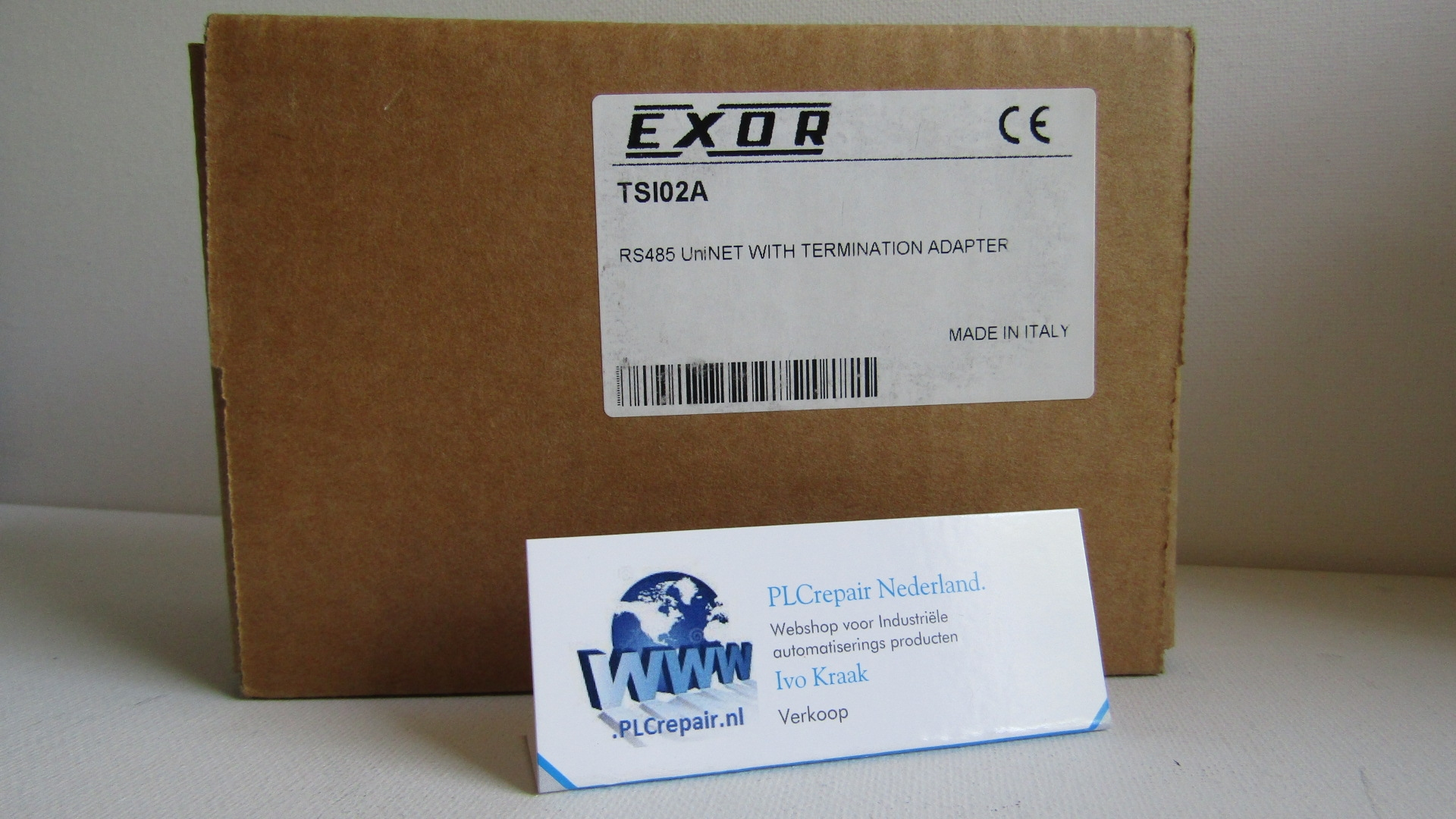 TSI01A  TSI02A Exor Uniop uninet HMI RS485 new in box.