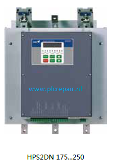 Softstarter for asynchronous motor 310A 160Kw 400VAC 50-60Hz